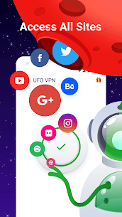 UFO VPN Basic: Free VPN Proxy & Secure WiFi Master Mod APK [Premium Cracked] 4