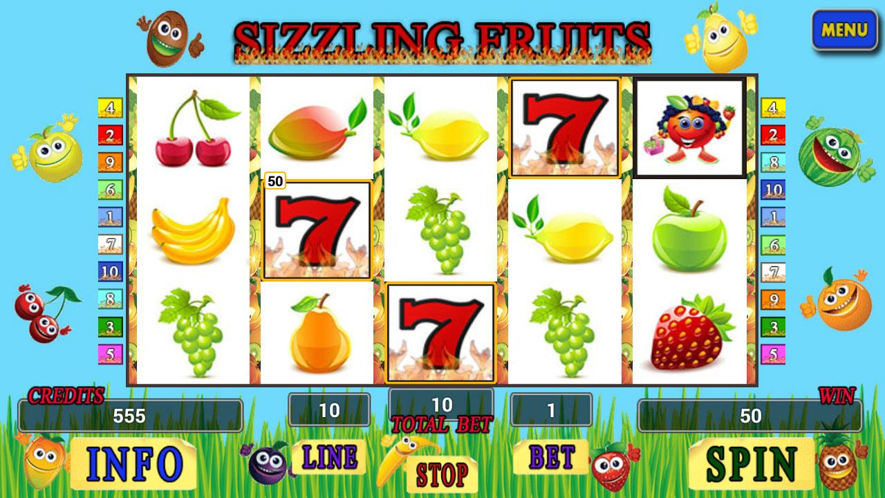 sizzling fruit game