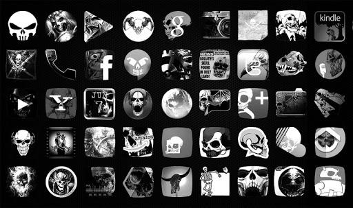 Skulls Theme 어두운