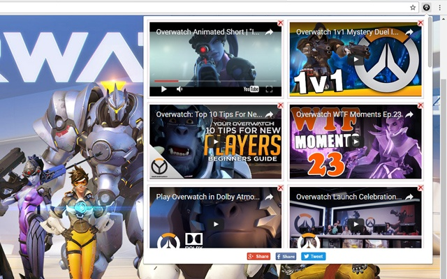 Overwatch Video Gallery