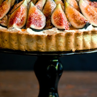 Fig, Mascarpone, and Pistachio Tart