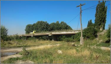 Photo: Str. Alba Iulia - pod peste Raul Aries si Str. Funicularului - vedere de pe Str. Funicularului - 2017.07.18