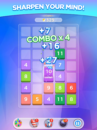 Merge Number Puzzle apktram screenshots 7