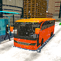 Snow Bus Driving Games 2020: New Bus Simulator 3D icon