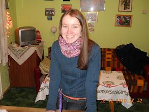 """Photo: 26 XII 2010 roku -  Ewa z D.A. """" Maciejówka """"  jest zawsze uśmiechnięta ....................."""