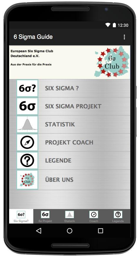 Six Sigma Guide - Basic – Screenshot