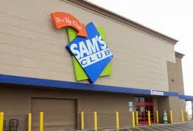 Photo: Welcome to Sam's Club. I enjoy going to Sam's and before we had kids my husband and I would go eat dinner there for a really cheap date!