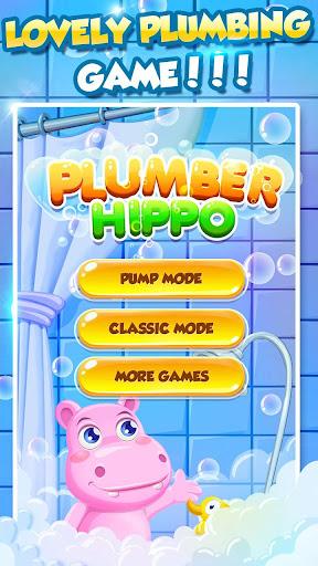 Bathe Hippo - Connect Pipes apkdebit screenshots 6