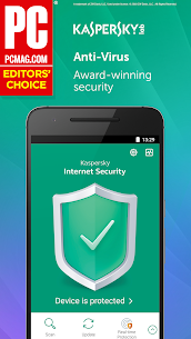 Kaspersky Mobile Antivirus : AppLock & Web Security 2