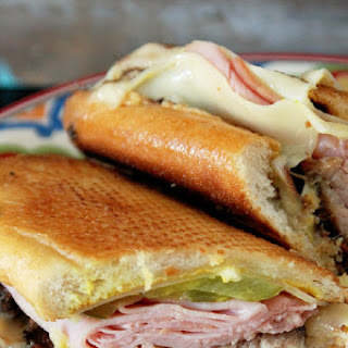 Roasted Pork Cuban Sandwich.