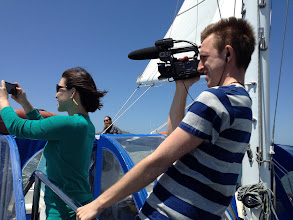 Photo: Catamaran adventure!