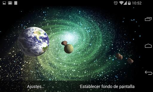 3D Galaxy Live Wallpaper 4K Full screenshot 9