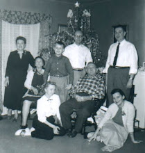 Photo: 1957 Christmas with Osmundsens and Andersons