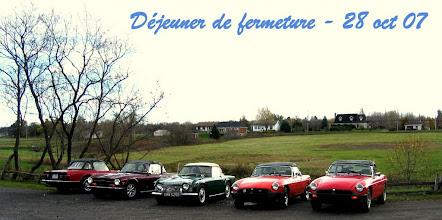Photo: Les voitures à leur dernière sortie