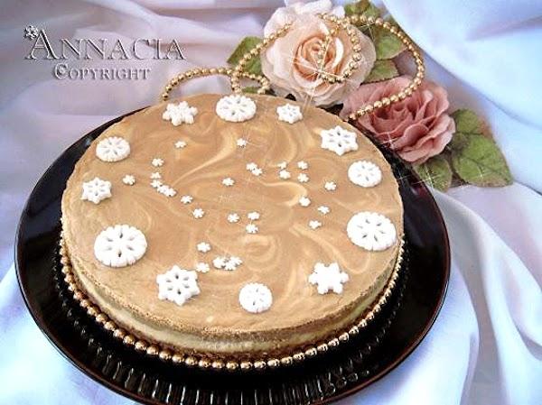 Almond Coffee Cheesecake For Anna Recipe