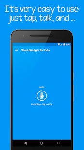 Voice changer for kids and families Screenshot