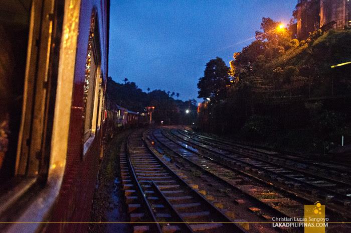 Ella to Colombo Train Evening