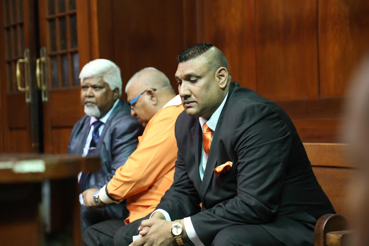 Shailendra Sukhraj fought back tears in the Durban High Court on Tuesday as he recounted the horror of his nine-year-old daughter's death.