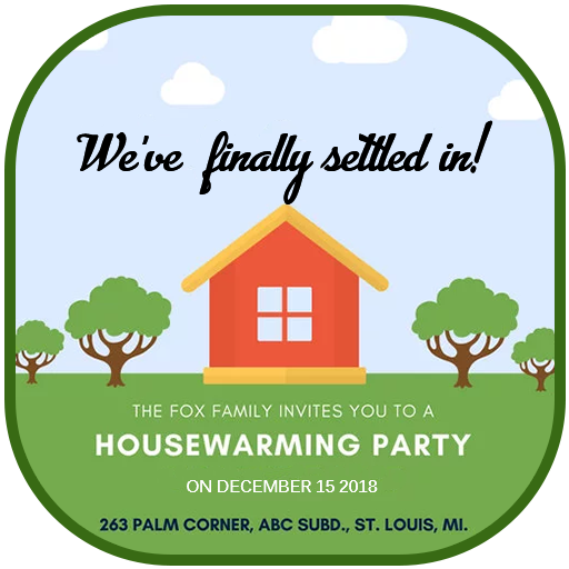 Housewarming Invitation Card Apps On Google Play