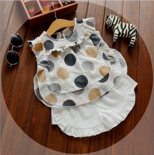 Kết quả hình ảnh cho dots blouse for baby girl