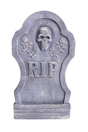 Gravsten, RIP