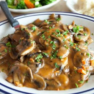 Mushroom Pork Chops.