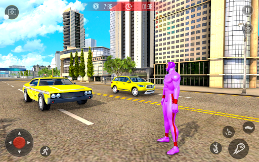 Amazing Spider Crime Hero: Gangster Rope Hero Game 3 screenshots 6