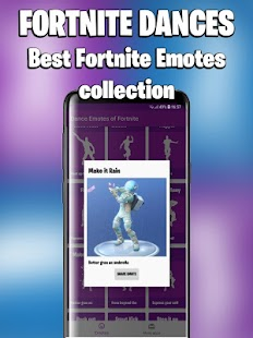 Dances from Fortnite (Fortnite Emotes) Screenshot