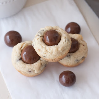 Chocolate Chip Malted Milk Ball Cookies
