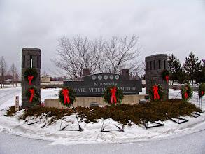 Photo: Minnesota State Veterans Cemetery