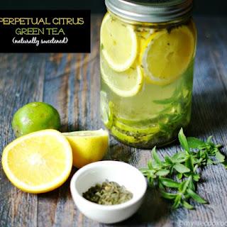 Perpetual Citrus Green Tea (naturally sweetened).