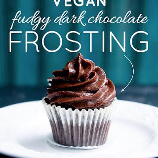 Fudgy Dark Chocolate Date Frosting.