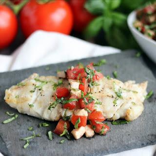 Caprese Grilled Fish.