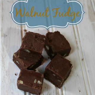 Walnut Fudge Recipe & Easier Holiday Entertaining Tips