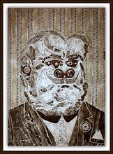 Photo: Antonio Berni Don Juan, el amigo de Ramona (o Don Juan, el pretendiente) 1963. Xilocollage. Matriz xilográfica: 79,5 x 56,8 cm. Estampa: 95,9 x 65,2 cm. The Museum of Fine Arts, Houston, EE.UU. Expo: Antonio Berni. Juanito y Ramona (MALBA 2014-2015)