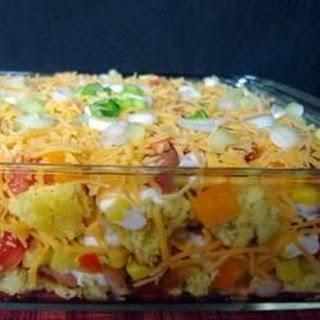 Mexican Cornbread Salad