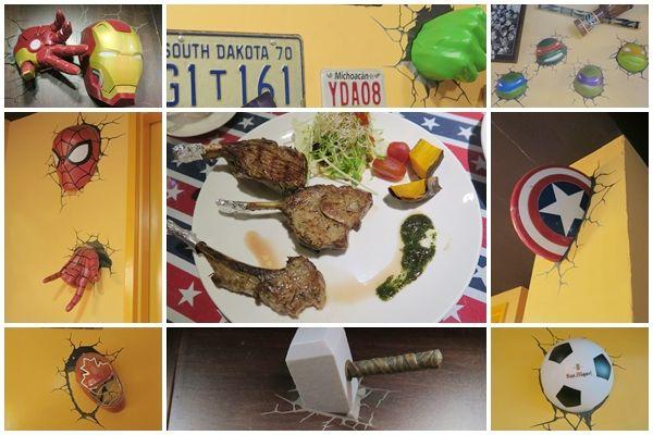 WORTHY活西美式餐飲~破牆的英雄聯盟X香料版美式料理
