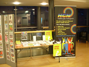 Photo: View from the Top Exhibition - Community Table + Healthy Gay Nottingham