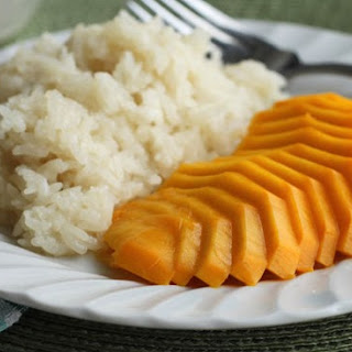 Mango with Coconut Sticky Rice!.