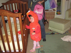 Photo: Elmo (both of them), ready for action
