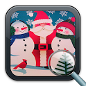 Find the differences christmas icon