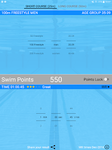 Swim Points: Elite and Masters- screenshot thumbnail