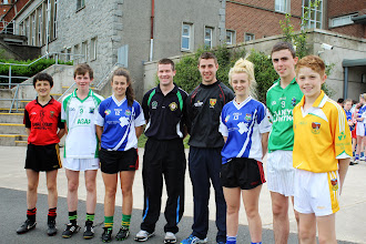 Photo: Ryan, Intercounty referee Pádraig Hughes and, Meabh and Aimee