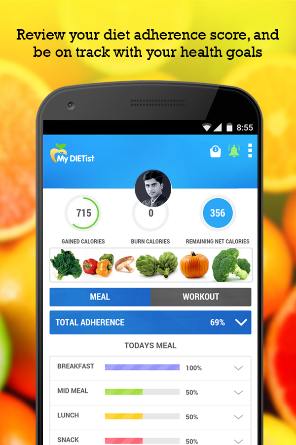 Mydietist lose weight stay fit android apps on google play for My shed app
