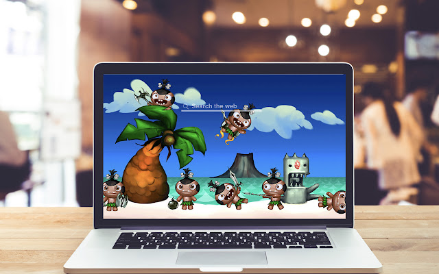 Pocket God HD Wallpapers Game Theme