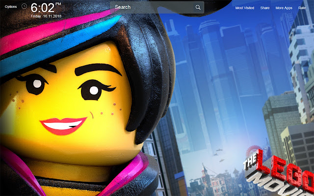 Lego Movie Wallpapers Theme New Tab