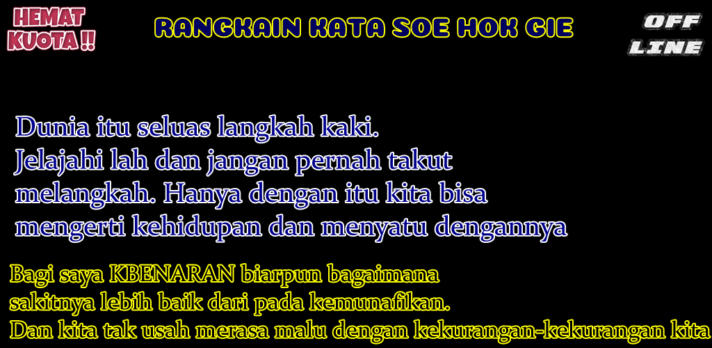 Download Dp Kata Kata Soe Hok Gie Apk Latest Version 101