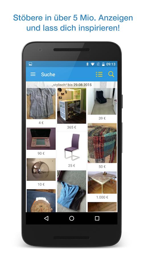 Quoka Kleinanzeigen Flohmarkt - Android-Apps auf Google Play