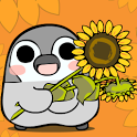Pesoguin LWP Sunflower Penguin icon