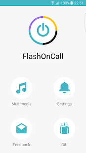 FlashOnCall + Screenshot